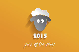 Year of the Sheep 2015 Wallpaper for Android, iPhone and iPad