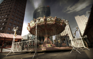 Berlin Carousel Background for Android, iPhone and iPad