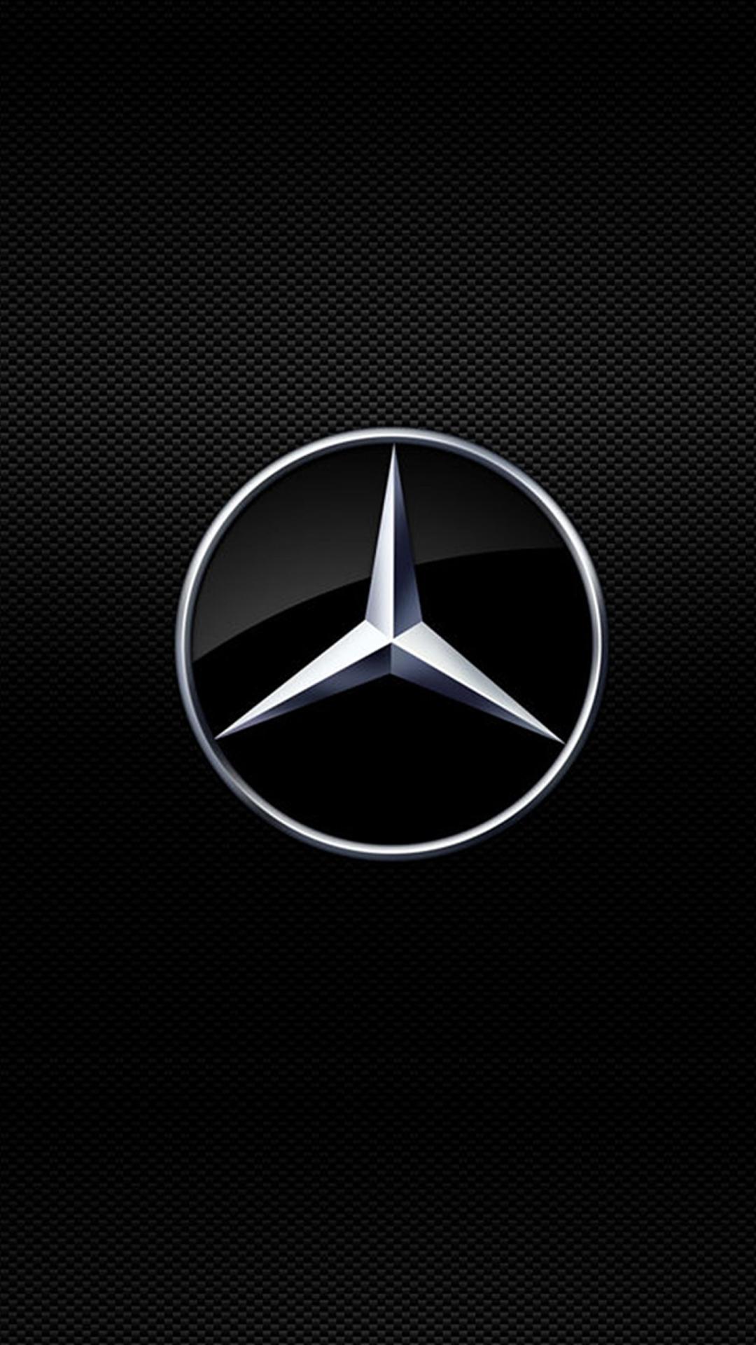 Kobe Bryant Cars >> Mercedes Logo Wallpaper for 1080x1920