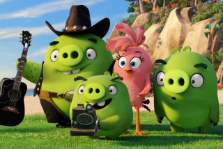 The Angry Birds Movie Pigs - Obrázkek zdarma pro Widescreen Desktop PC 1920x1080 Full HD