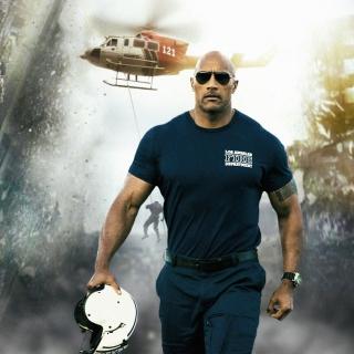 Dwayne Johnson Policeman - Obrázkek zdarma pro 1024x1024