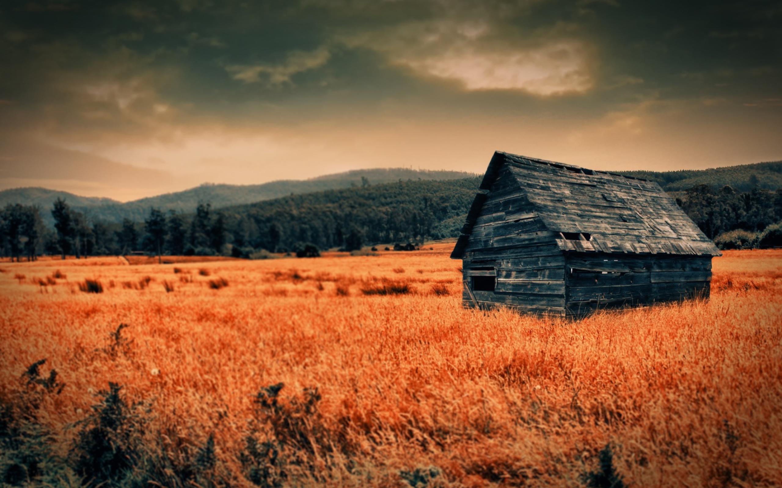 горы сарай осень mountains the barn autumn  № 387014 загрузить
