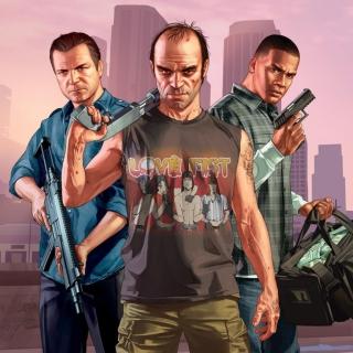 Grand Theft Auto V Band - Obrázkek zdarma pro iPad mini