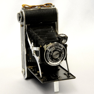 Coronet Vintage Retro Camera - Obrázkek zdarma pro 128x128