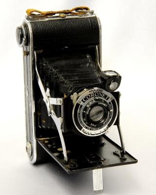 Coronet Vintage Retro Camera - Obrázkek zdarma pro 128x160