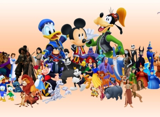 Disney Family - Obrázkek zdarma pro 480x360
