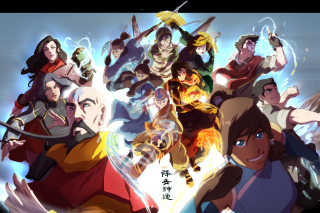 The legend of korra Background for Android, iPhone and iPad