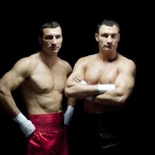 Klitschko brothers Wladimir and Vitali - Obrázkek zdarma pro 320x320