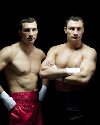 Klitschko brothers Wladimir and Vitali - Obrázkek zdarma pro Nokia 206 Asha