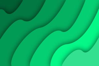 Green Waves - Obrázkek zdarma pro Xiaomi Mi 4