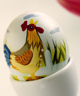 Easter Egg With A Beautiful Motif - Obrázkek zdarma pro Nokia Lumia 505