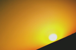 Black And Yellow Sun Wallpaper for Android, iPhone and iPad