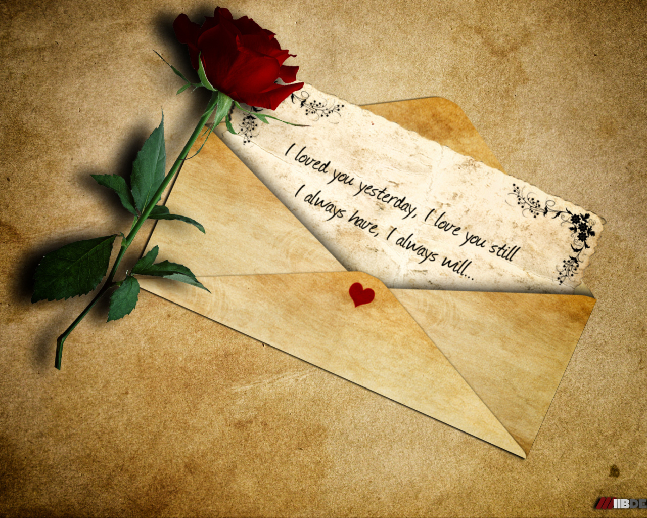Письмо поздравления о любви
