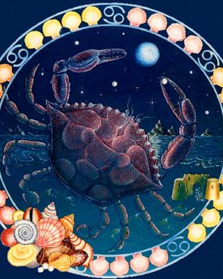 Cancer Zodiac - Obrázkek zdarma pro Nokia C1-00