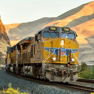 Union Pacific Train - Obrázkek zdarma pro iPad 3