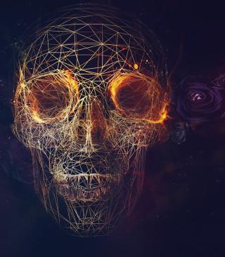 Skull - Obrázkek zdarma pro 128x160