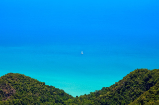 Anguilla Landscape Background for Android, iPhone and iPad
