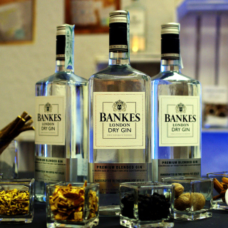 Dry Gin Bankers - Obrázkek zdarma pro iPad mini 2