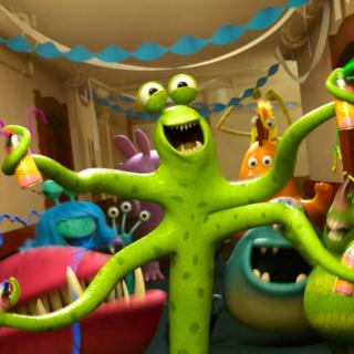Monsters University - Obrázkek zdarma pro iPad mini