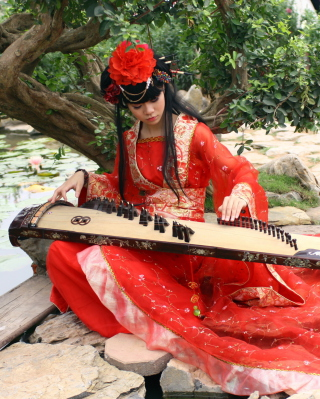Asian Music Player - Obrázkek zdarma pro Nokia Asha 300
