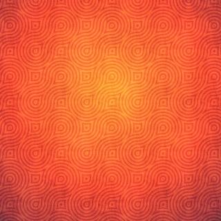 Orange Abstract Pattern - Obrázkek zdarma pro iPad 2