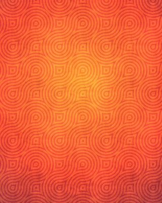 Orange Abstract Pattern - Obrázkek zdarma pro Nokia C2-01