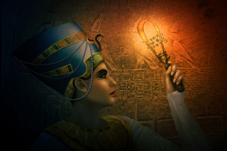 Nefertiti - Queens of Egypt Picture for Android, iPhone and iPad