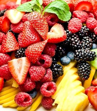 Fruit Plate - Obrázkek zdarma pro Nokia C1-00