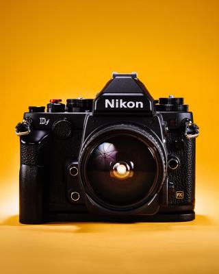 Nikon FX & DX - Obrázkek zdarma pro 128x160