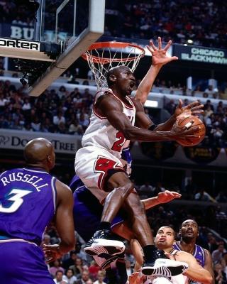Michael Jordan Goal - Obrázkek zdarma pro Nokia Asha 306