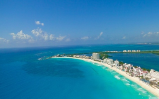 Blue Cancun - Obrázkek zdarma pro Samsung Galaxy Tab 4 7.0 LTE