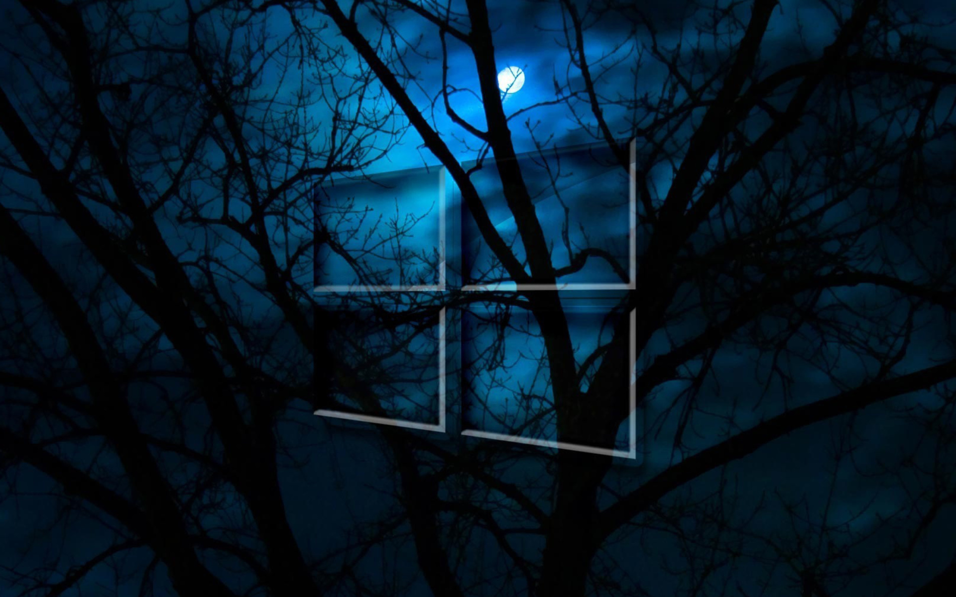 Windows 10 hd moon night fondos de pantalla gratis para - Fondos de escritorio hd para windows ...