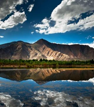 Mountain Lake In Chile - Obrázkek zdarma pro Nokia C2-00