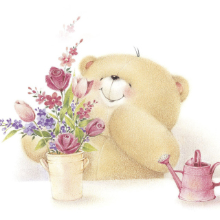 Forever Friends Teddy Bear - Obrázkek zdarma pro iPad Air