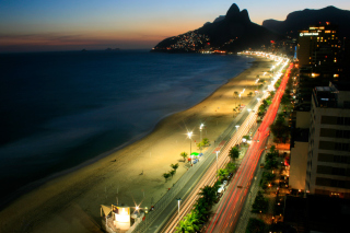 Free Rio De Janeiro Beach Picture for Android, iPhone and iPad