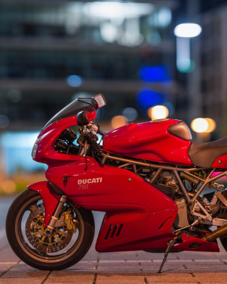 Ducati 750 SS - Obrázkek zdarma pro 480x640
