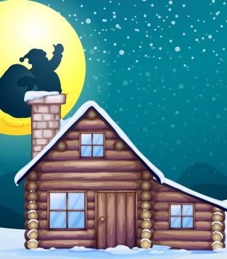 It's Santa's Night - Obrázkek zdarma pro Nokia Asha 305
