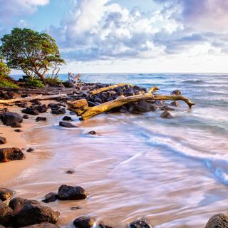 Sea shore and sky - Obrázkek zdarma pro iPad 3