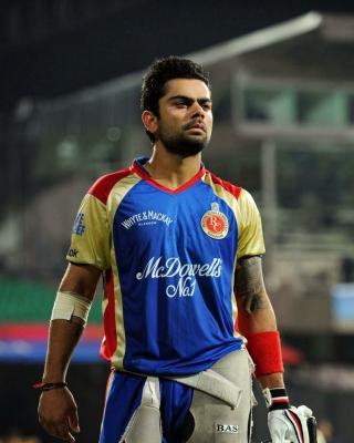 Virat Kohli in India Cricket HD - Obrázkek zdarma pro 360x640