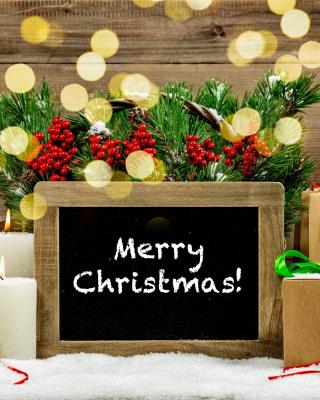 Merry Christmas - Obrázkek zdarma pro Nokia Lumia 810