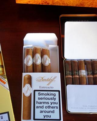 Cuban Montecristo Cigars - Obrázkek zdarma pro Nokia X1-01