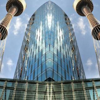 Architecture Line Deco - Obrázkek zdarma pro 1024x1024