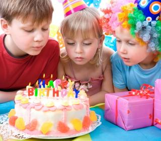 Kids Birthday - Obrázkek zdarma pro iPad mini
