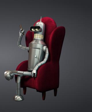 3D Bender Futurama - Obrázkek zdarma pro 1080x1920