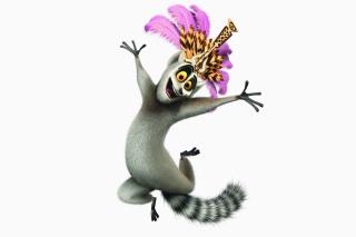 Lemur King From Madagascar - Obrázkek zdarma pro Samsung Galaxy Note 2 N7100