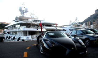 Free Cars Monaco And Yachts Picture for Android, iPhone and iPad
