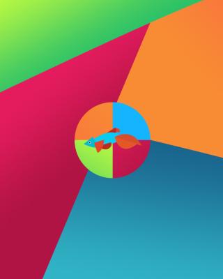 Windows 8 Desktop Pattern - Obrázkek zdarma pro Nokia Asha 305