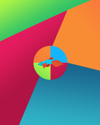 Windows 8 Desktop Pattern - Obrázkek zdarma pro Nokia C7