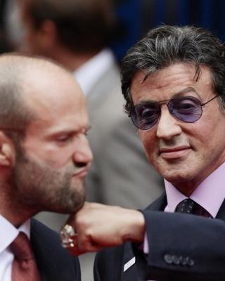 Jason Statham and Sylvester Stallone - Obrázkek zdarma pro 240x432