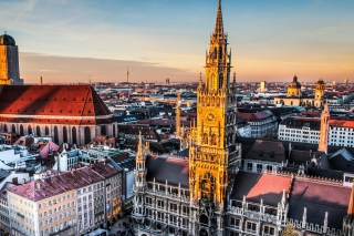 Munich, Bavaria Background for Android, iPhone and iPad